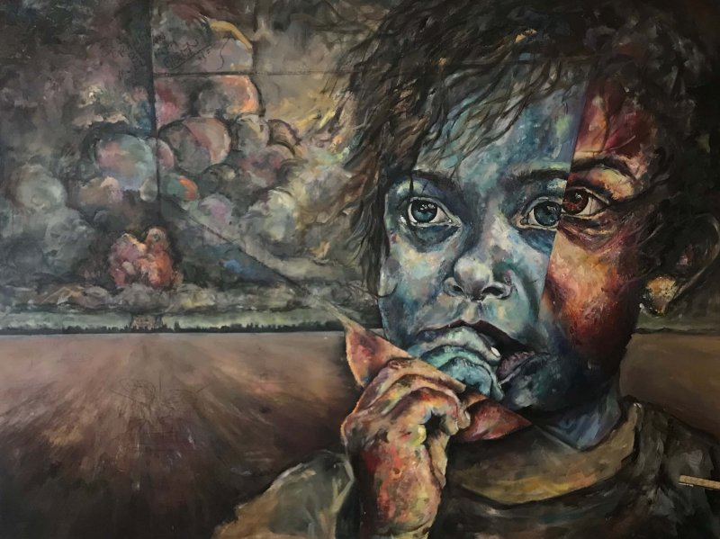 Art student spotlight: Tyler Podomik by Rick Chernicky