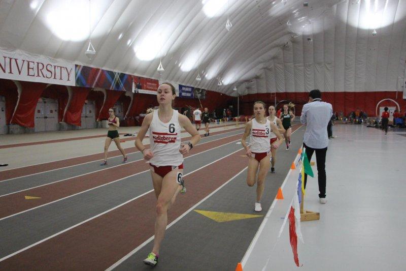 Women's track team prepares for PSACs by Erica Burkholder