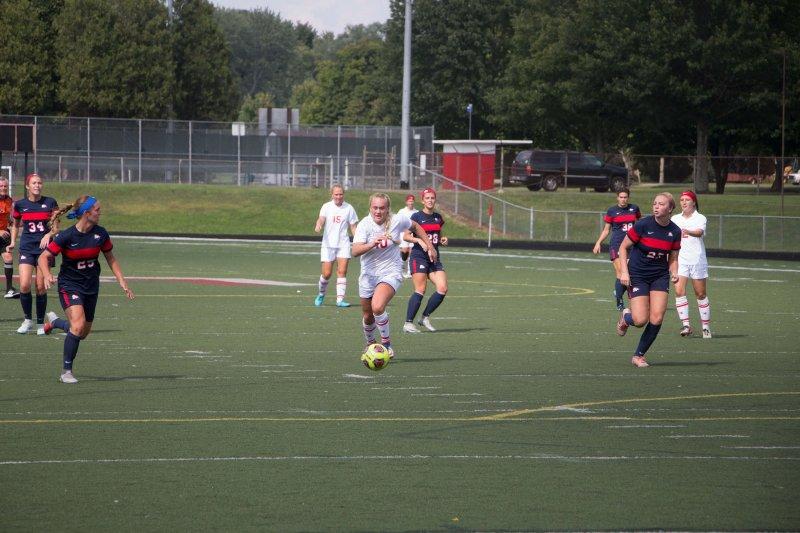 Soccer drops weekday tilt to Gannon by Erica Burkholder