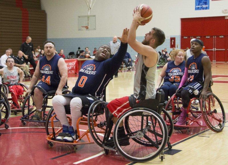 Wheelchair basketball dominates 'Boro Shootout by Erica Burkholder