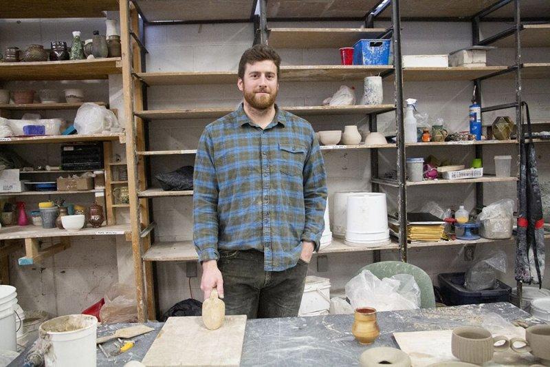 Ceramics club hosts Harvard's Stuart Gair for workshops by Hazel Modlin