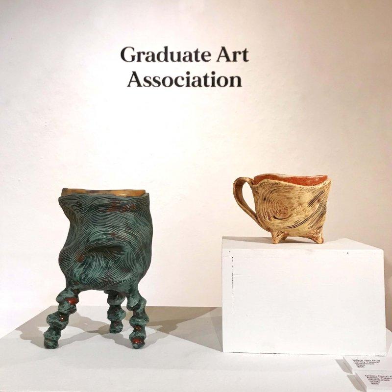 Graduate Art Association takes over Bates Gallery by Hazel Modlin