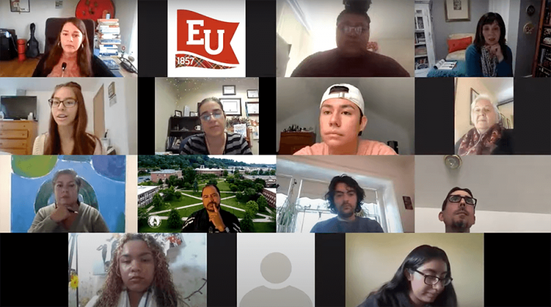 Edinboro celebrates Latinx Heritage Month with virtual panel by Emma McNeeley