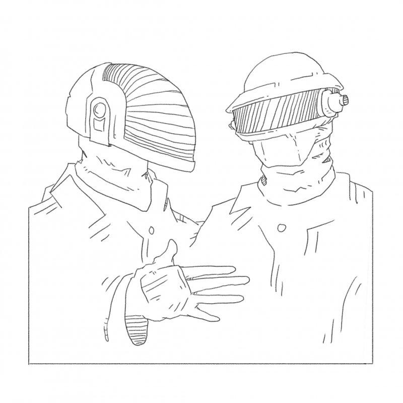 Daft Punk: no longer harder, better, faster, stronger by Teddy Rankin