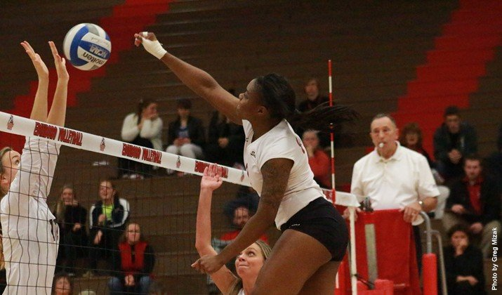 Edinboro women's volleyball has simple goal for 2015 by Becca Martin