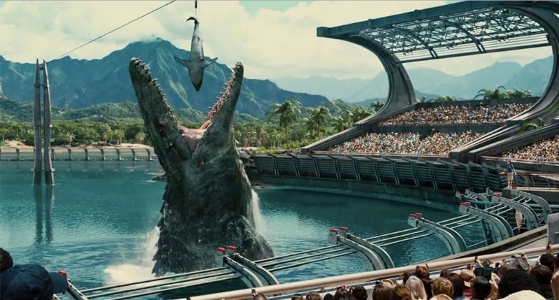 UPB Movie Of The Week: 'Jurassic World'  by Anna Ashcraft