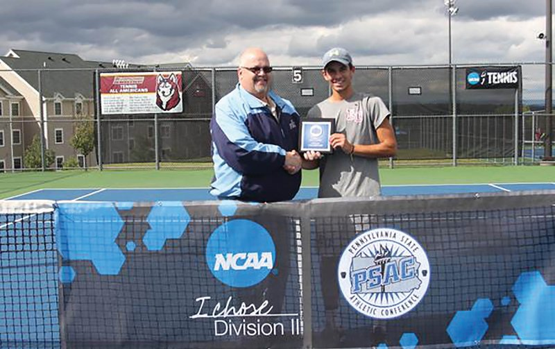 Albanese captures 2015 PSAC men's singles crown by Tyler Trumbauer