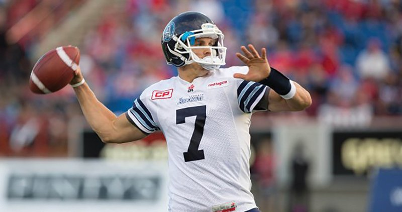Former Scots quarterback playing for CFL, talks Edinboro days and new career by Mike Fenner
