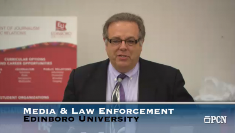 Live: Media and Law Enforcement Panel by EdinboroNow