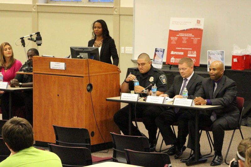 PRSSA holds 'Media and Law Enforcement' panel discussion by Tracy Geibel