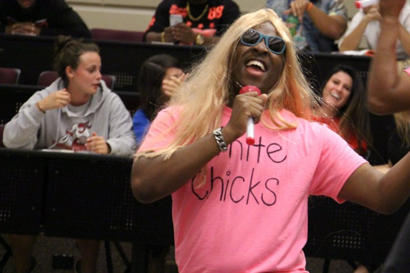 Comm department's first lip sync battle draws crowd by Tracy Geibel