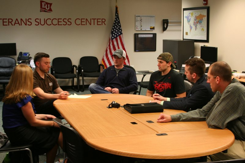 Student Veterans Association takes on Spartan Pledge mission by George Schmidt
