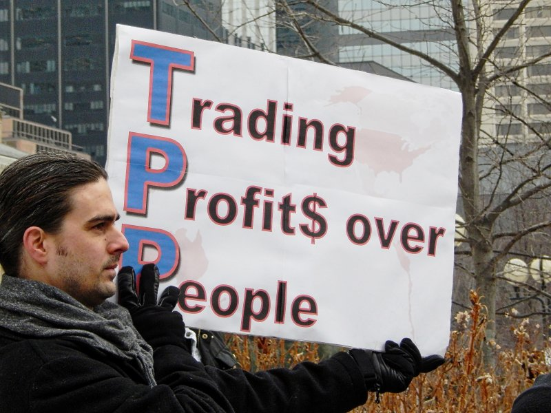 A glimpse of the consequences associated with the Trans-Pacific Partnership by Alexa Story