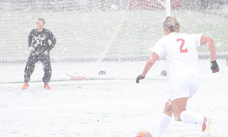 'Neither snow nor rain': Boro soccer wins despite unseasonable conditions by Mike Fenner