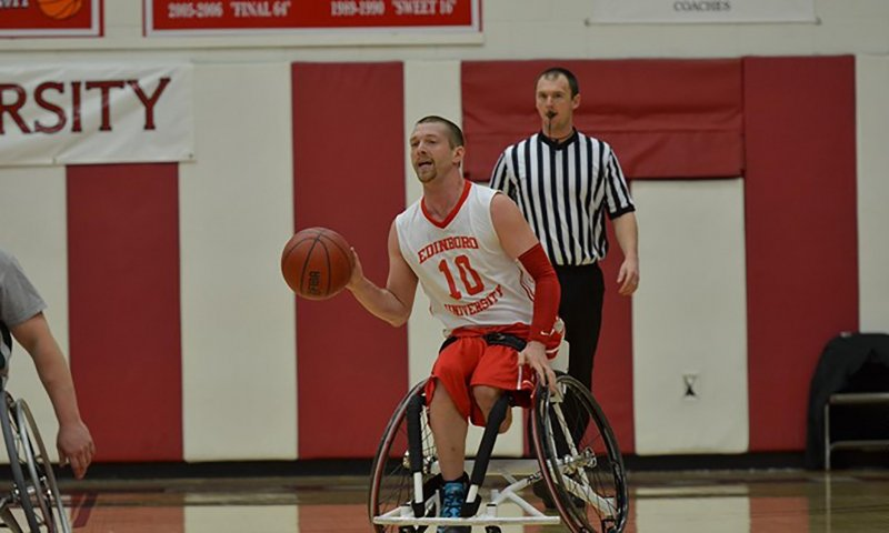 Wheelchair basketball preps for upcoming season by Tyler Trumbauer