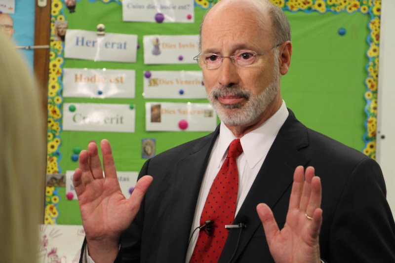 Governor Wolf talks education by Tracy Geibel