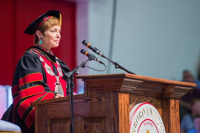 President Wollman discusses future plans, Edinboro memories  by Karlee Dies