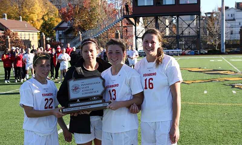 Warriors win battle, Scots settle for second in PSAC championship  by Mike Fenner