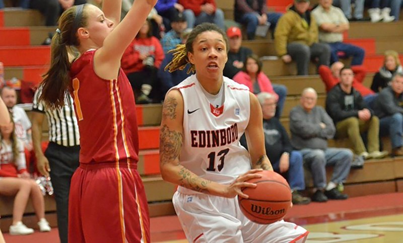 Newcomers, transfer look to play key roles for Edinboro women's basketball this year  by Tyler Trumbauer