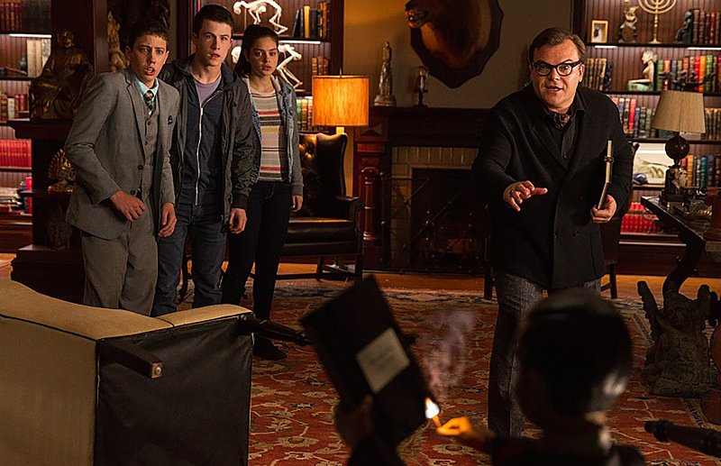 Jack Black stars as R.L. Stine in adaptation of 'Goosebumps'  by Anna Ashcraft