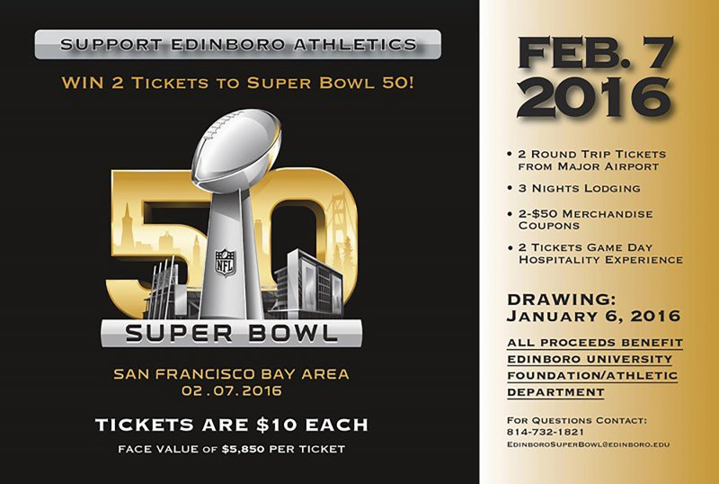 Athletic department holding annual Super Bowl ticket giveaway by Tyler Trumbauer