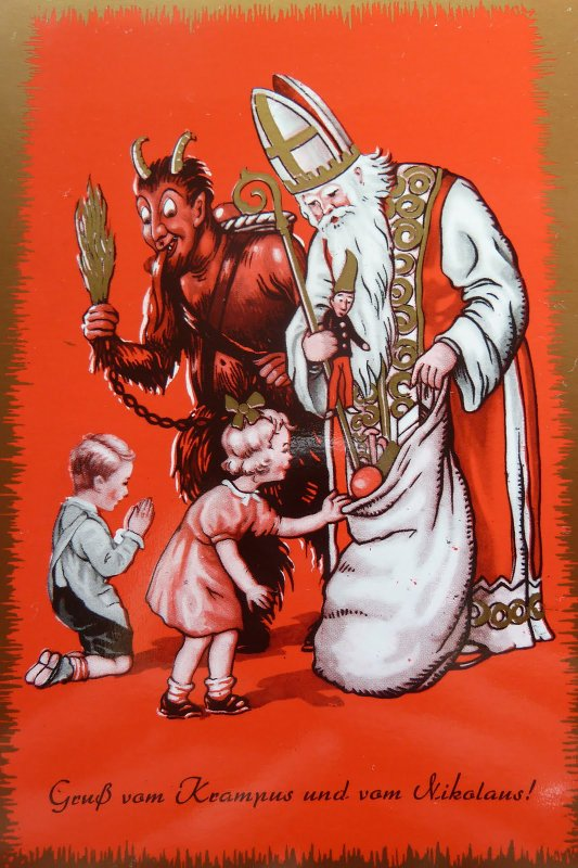 The history of the real St. Nicolas and the origins of Krampus  by Anna Ashcraft