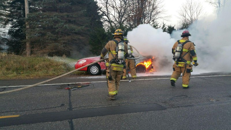 Graduate student assists in car fire by Tracy Geibel