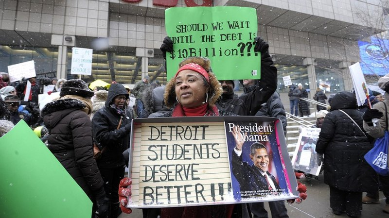 Observing the Catastrophe of Detroit's Public School System by The Spectator