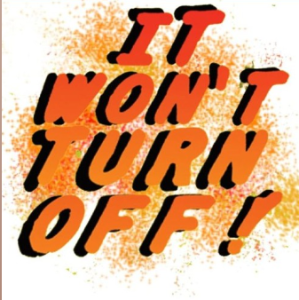 It Won't Turn Off!: The Visitor Won't Turn Off! by Britton Rozzelle