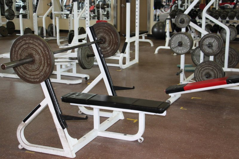 Campus Gymnasium Offers Students Free Workout, Way to Fight Stress by William Stevens