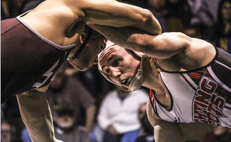 Wrestling Team Falls to Virginia Tech, but Captures EWL Crown by Michael McLaughlin