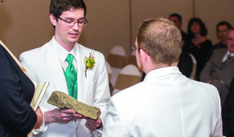 Edinboro Alumni Tie the Knot, Hold 'Lord of the Rings' Themed Wedding by Tracy Geibel