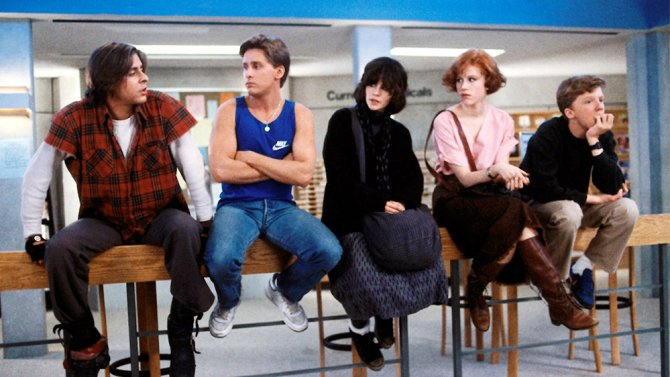 UPB Movies: 'The Breakfast Club': Where Do You Fit In? by Hannah Webster