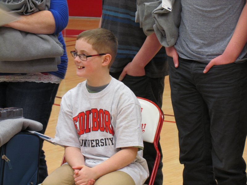 Make-A-Wish: Edinboro Student Athletes Grant Young Boy's Wish by Macala Leigey