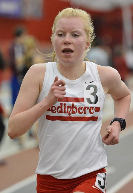 Women's Track Captures 4 Victories at PSACs by Mike Lantinen
