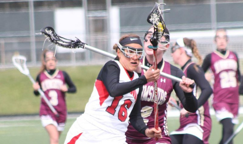 Lacrosse Team's Comeback Falls Short in Home Opener by Mike Lantinen