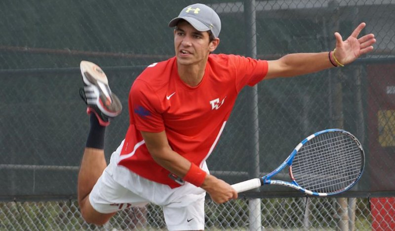 Men's Tennis Team Defeats Highly Ranked Regional Foe by Michael McLaughlin