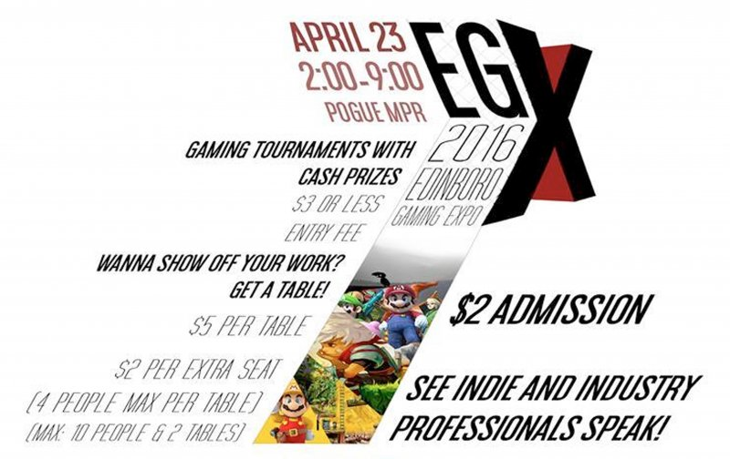 The Edinboro Game Expo blasts its way to Pogue by Britton Rozzelle