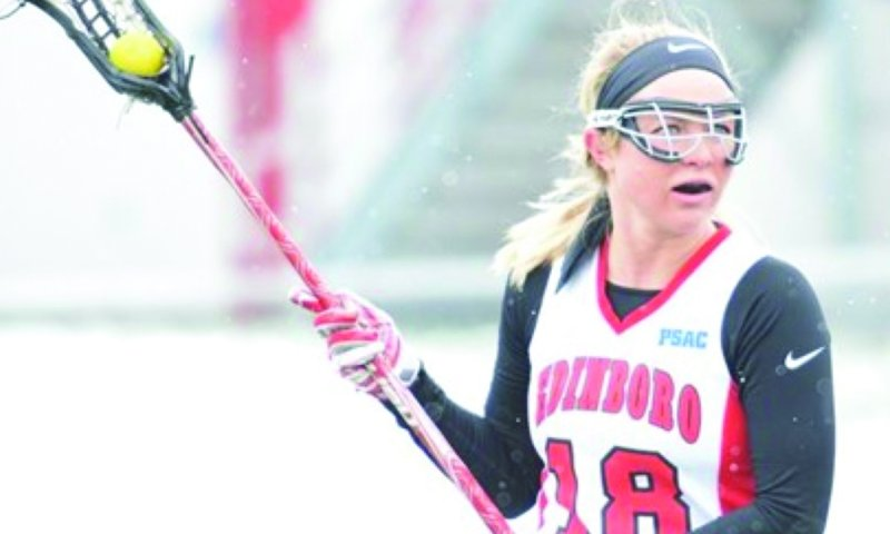 Women's lacrosse tops Wheeling Jesuit, honors seniors by Mike Lantinen