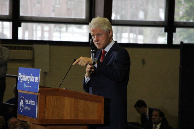 Bill Clinton Adresses Erie by Dakota Palmer