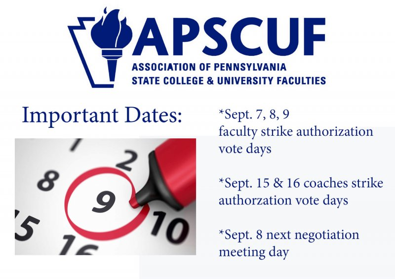 Will APSCUF Strike? by Macala Leigey