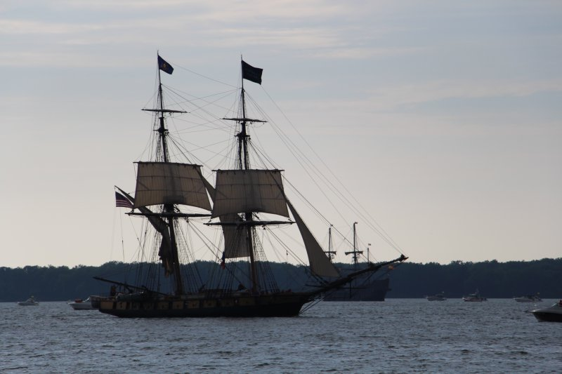 Video: Tall ships set sail in Erie by Taylor Buffington