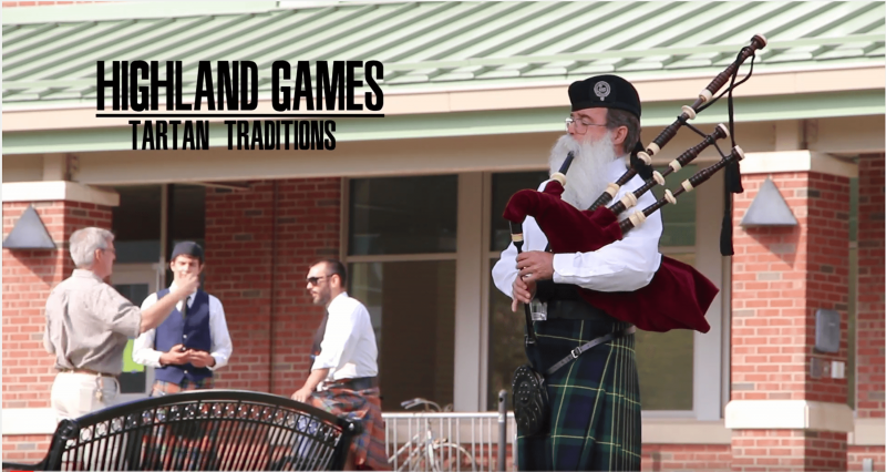 Highland Games: Tartan Traditions  by The Spectator