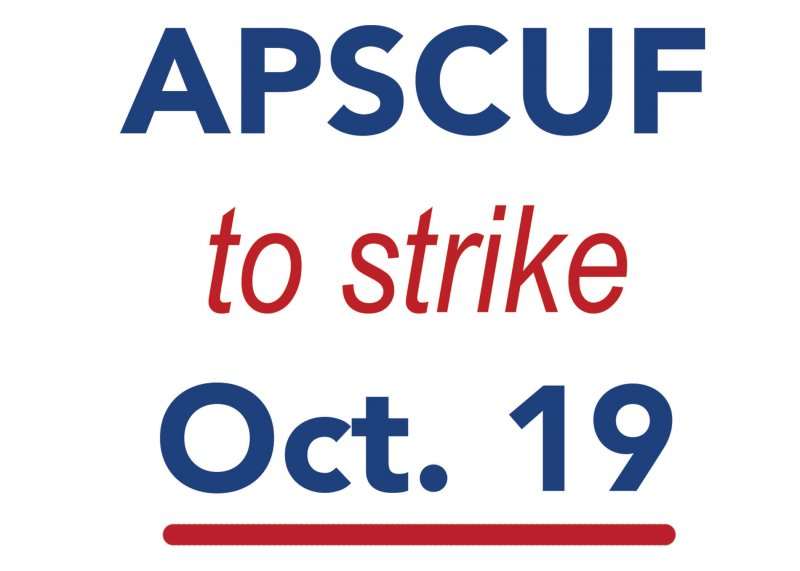 APSCUF to strike Oct. 19 by Macala Leigey