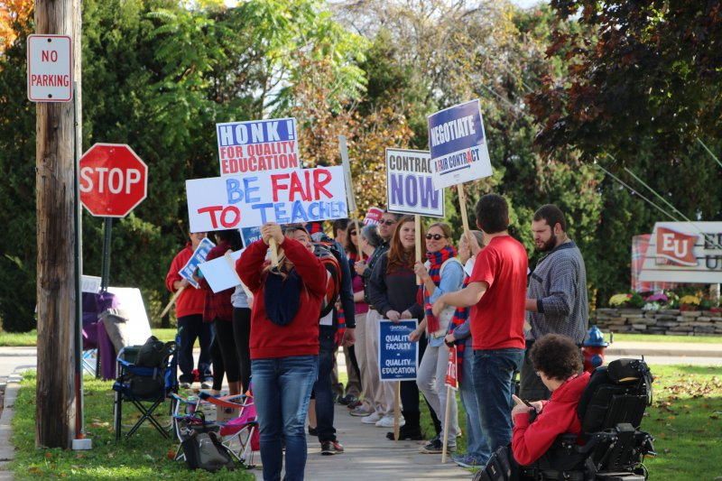 Tentative agreement ends faculty union strike by Macala Leigey