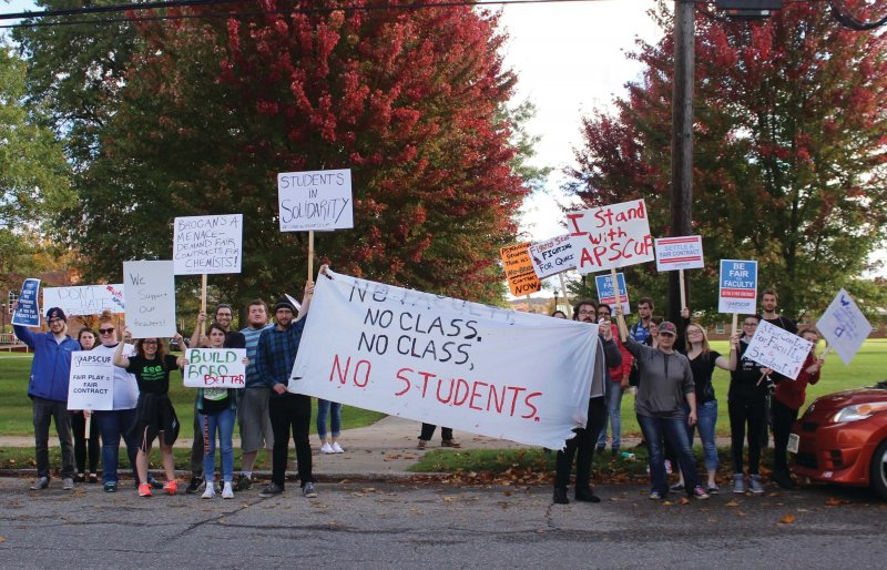 Students speak up: Their perspectives on strike by Hannah Webster
