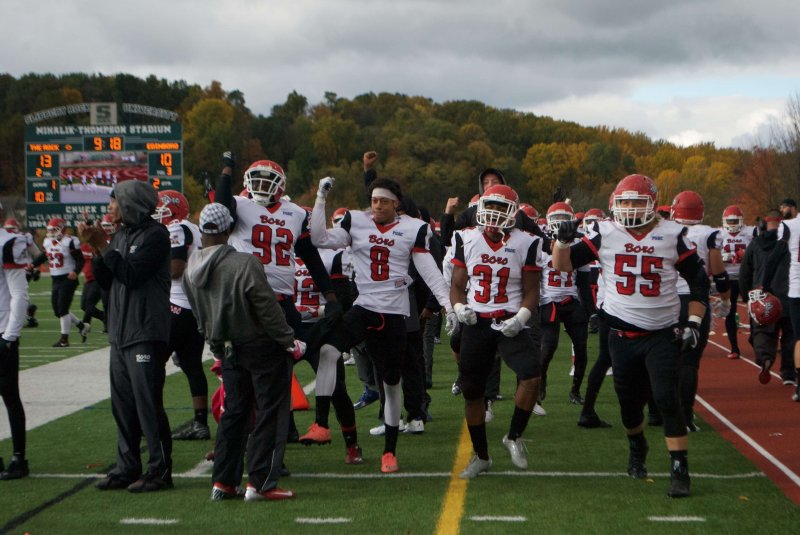 Edinboro spoils Slippery Rock's homecoming by George Schmidt