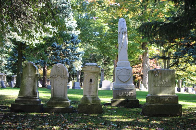 Erie 'Cemetery Lady' continues tradition of walking tours at almost 200-year-old cemetery, running through October by Anna Ashcraft