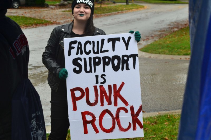 Students speak out after strike by Dakota Palmer