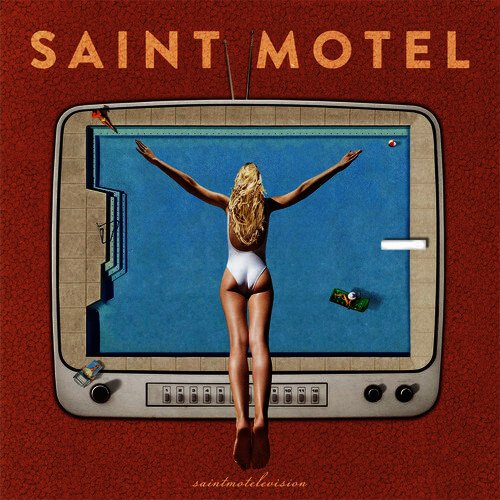 'Saintmotelevision' transmits indie pop radio static by Roman Sabella